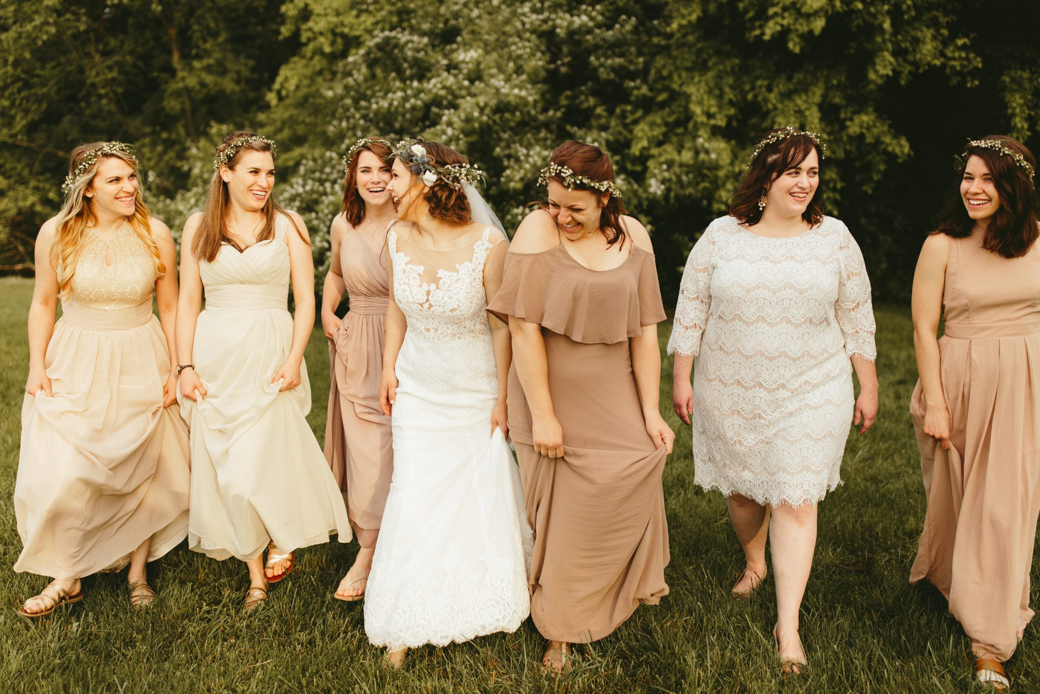 bridal party photos, mismatched bridesmaids dresses, blush bridesmaid dresses,philadelphia documentary wedding photographer,brooklyn wedding photography, Brooklyn wedding, Philadelphia wedding photographer, Philadelphia wedding, Brooklyn new york photographer, unique wedding inspiration, fun wedding photos, romantic wedding, destination wedding photographer, wedding photography inspiration,barn wedding ideas, barn wedding, unique barn wedding inspiration