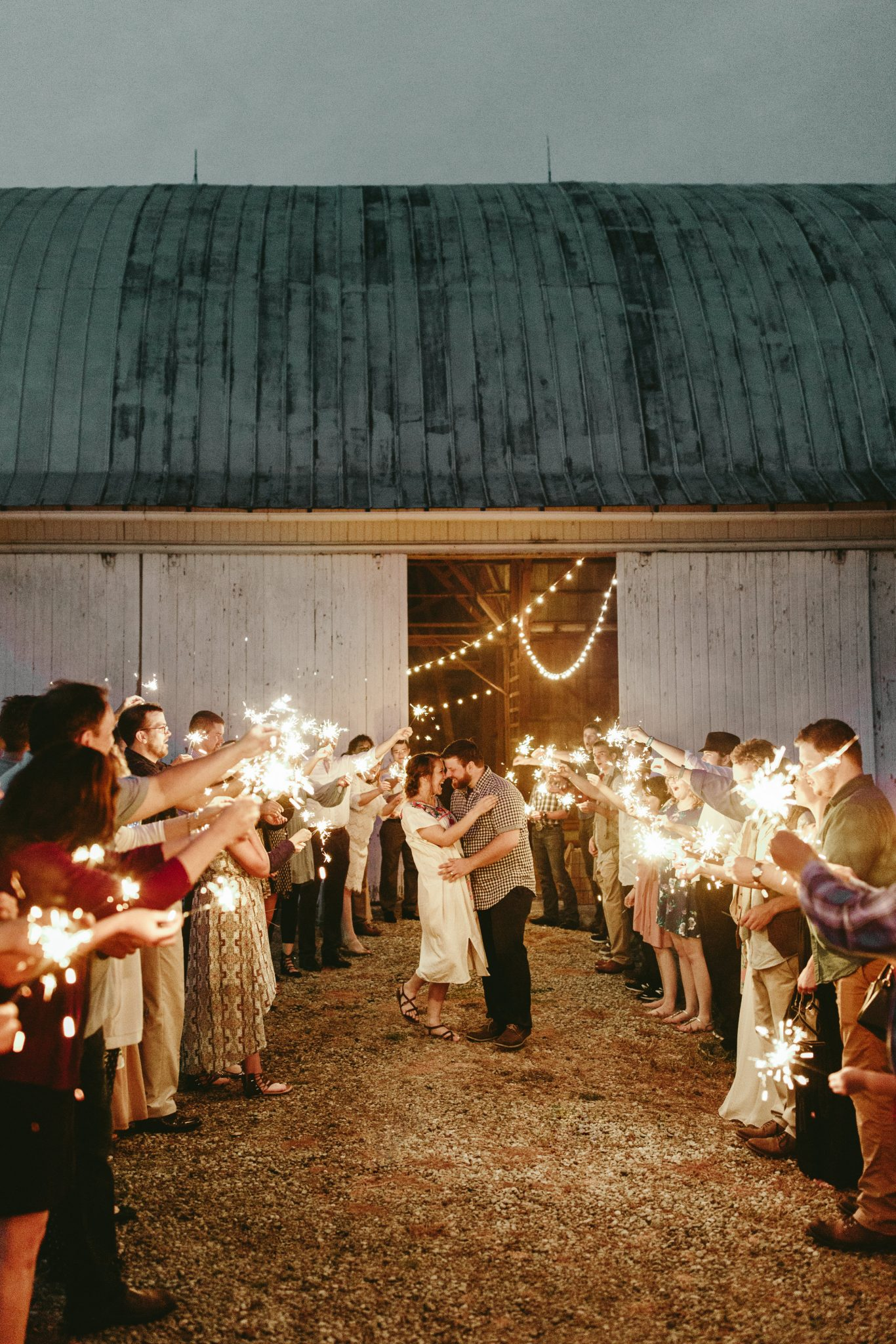 sparkler exit photos, barn sparkler exit, string lit barn reception, unique wedding exit photos, later send off wedding exit, barn wedding, outdoor wedding reception, philadelphia documentary wedding photographer,brooklyn wedding photography, Brooklyn wedding, Philadelphia wedding photographer, Philadelphia wedding, Brooklyn new york photographer, unique wedding inspiration, fun wedding photos, romantic wedding, destination wedding photographer, wedding photography inspiration,barn wedding ideas, barn wedding, unique barn wedding inspiration