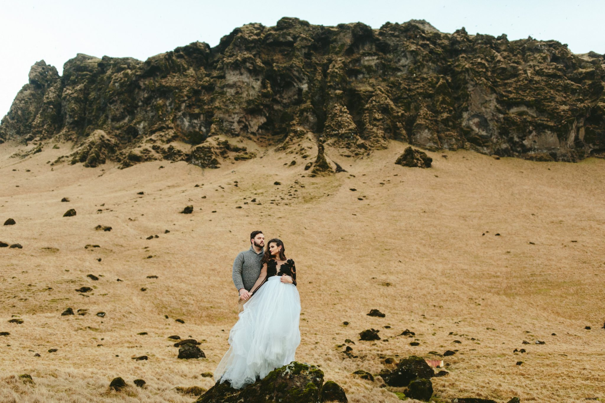 destination elopement in iceland